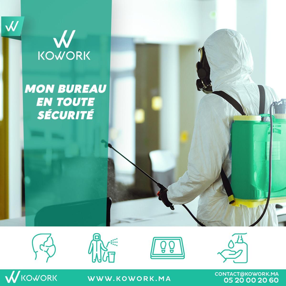 Les mesures et améliorations de Kowork face aux risques sanitaires