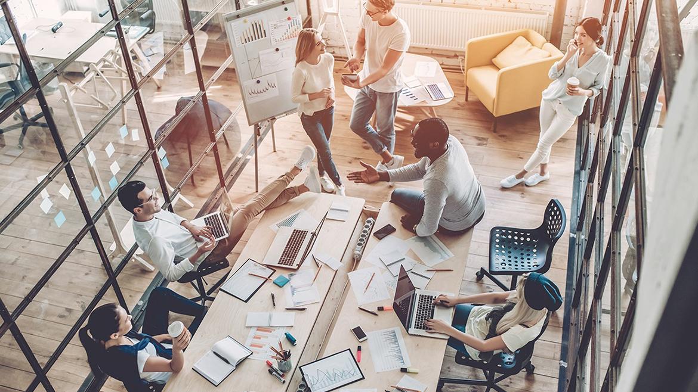 Pourquoi le coworking et les startups font bon ménage?